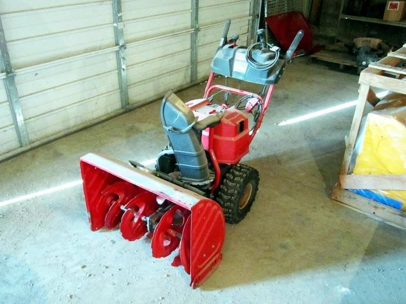 Used Troy Bilt STORM 9528 Snow Blowers for Sale   Machinery Pete