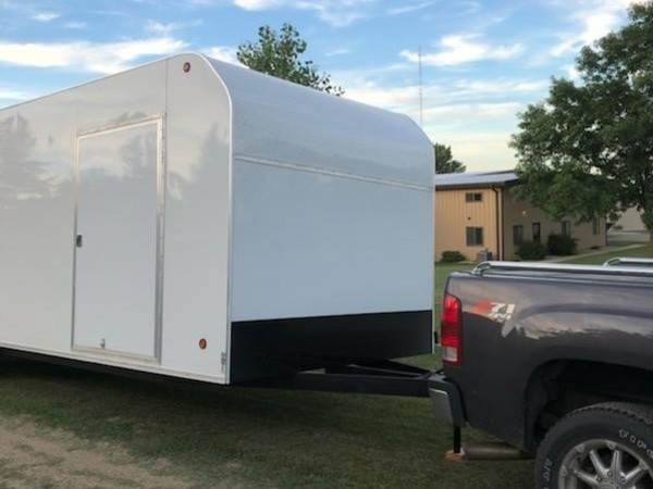 2018 Apache 8x26 Box Trailer
