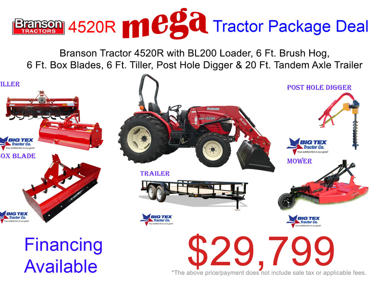 Used Branson 4520R Tractors for Sale | Machinery Pete