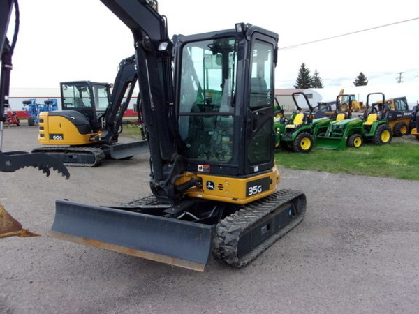 Used Deere 35G Backhoes for Sale | Machinery Pete