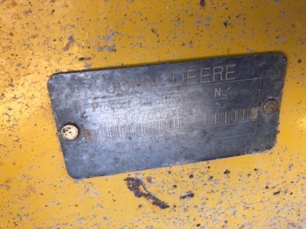2001 Deere 700H LGP Dozer