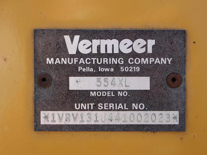 2006 Vermeer 554XL Round Baler
