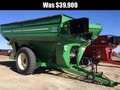 2011 J&M 1151-22D Grain Cart