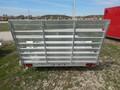 2020 Aluma 7712H UTILITY W/ STRAIGHT GATE Flatbed Trailer