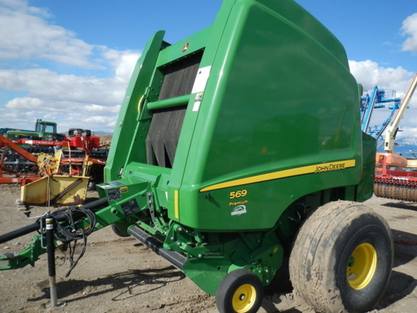 John Deere 569 Premium Round Balers for Sale | Machinery Pete