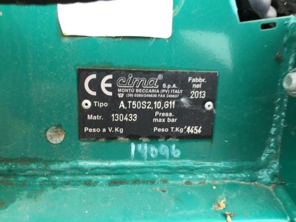 2014 Gearmore T50S2-1200 Pull-Type Sprayer