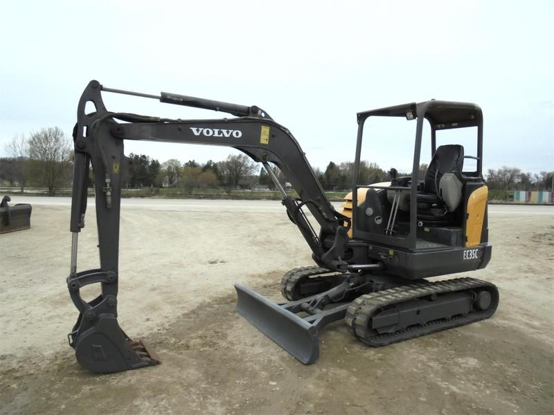 2012 Volvo EC35C Excavators and Mini Excavator