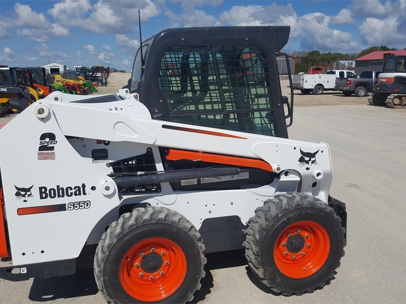 Used Bobcat S550 Skid Steers for Sale | Machinery Pete