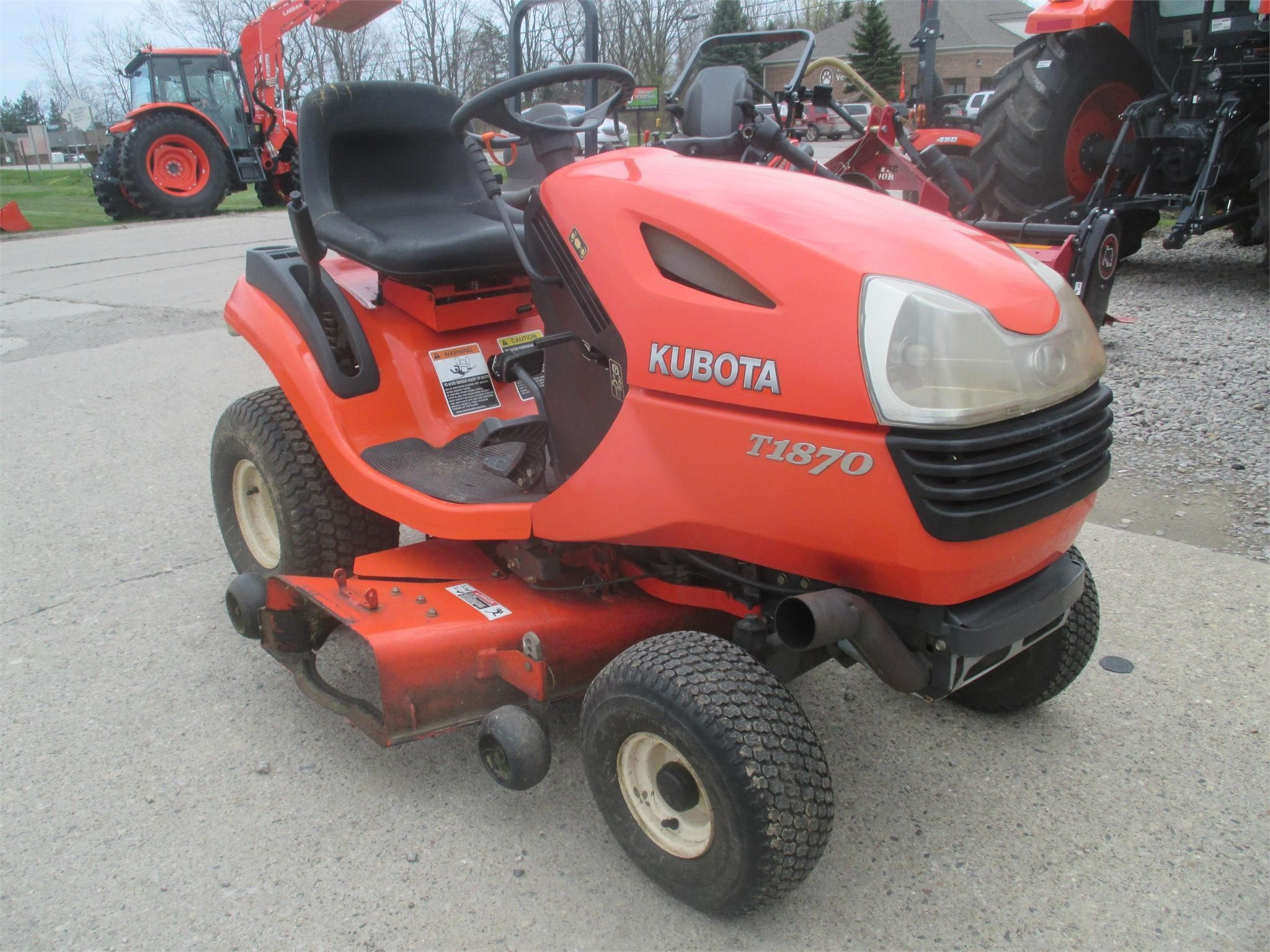 Kubota T1870A Lawn and Garden