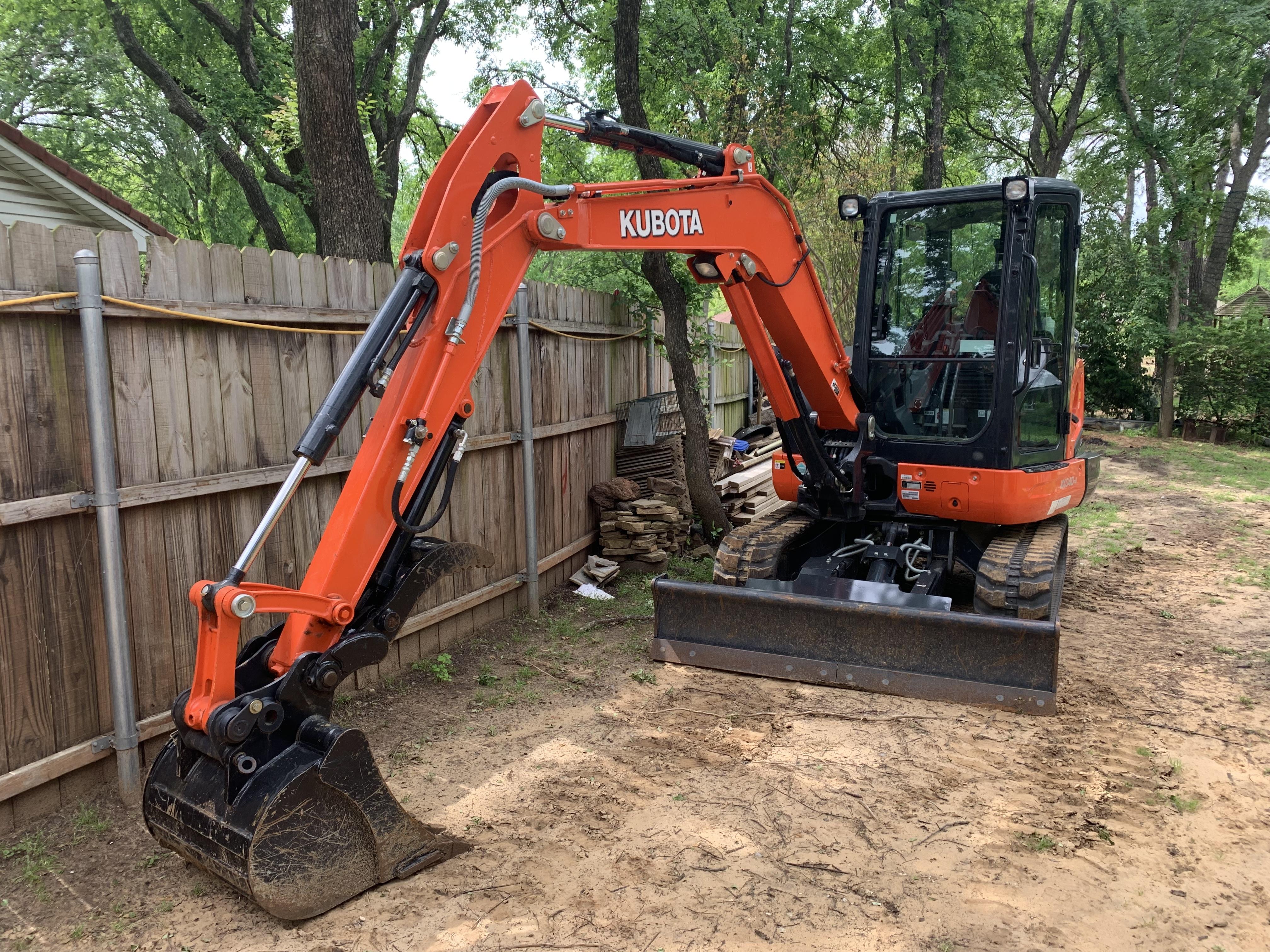 2018 Kubota KX040-4 Excavators and Mini Excavator