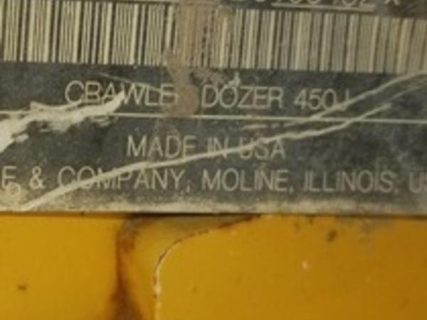 2011 Deere 450J Dozer