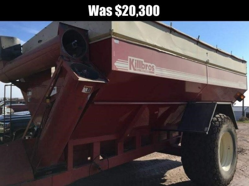 1999 Killbros 1800 Grain Cart
