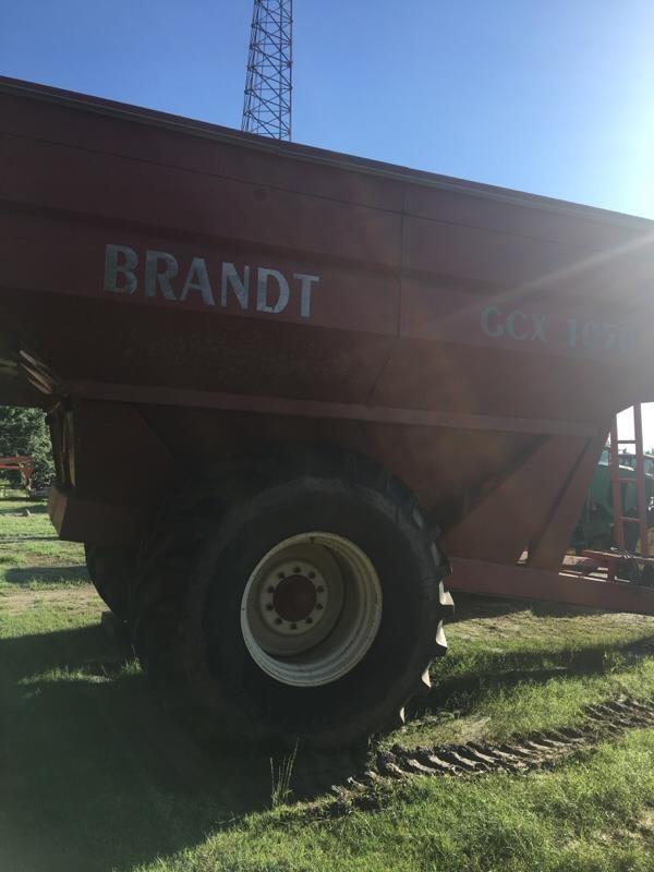 2008 Brandt GCX1050 Grain Cart