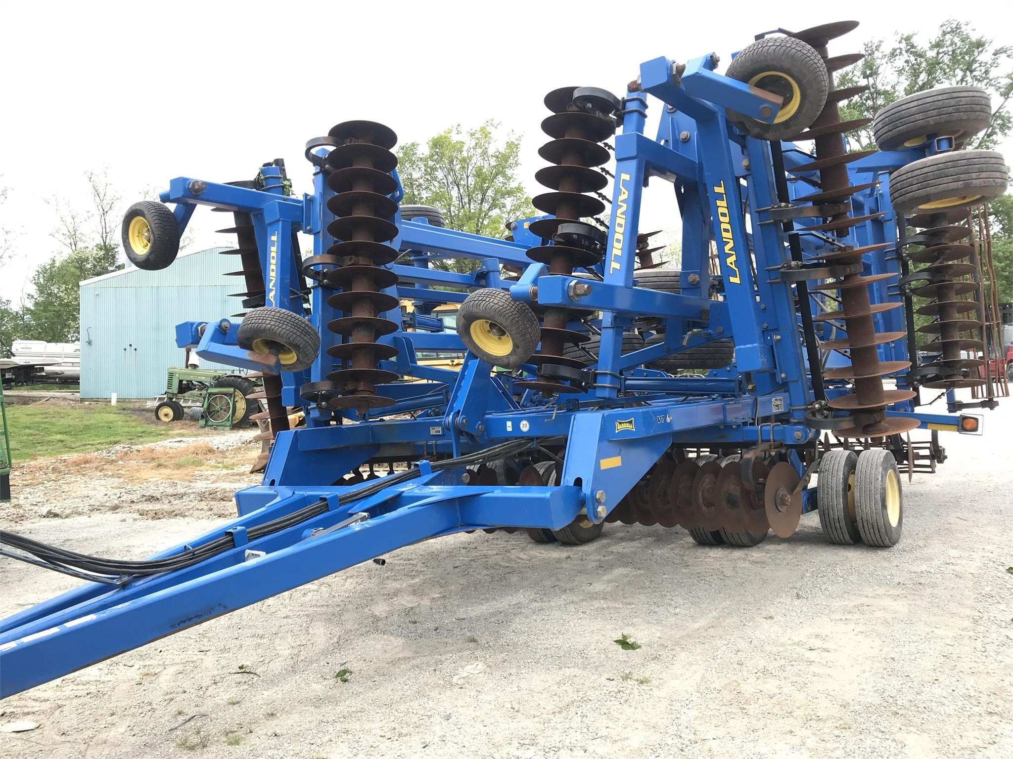 2012 Landoll 7450 VT Plus Vertical Tillage