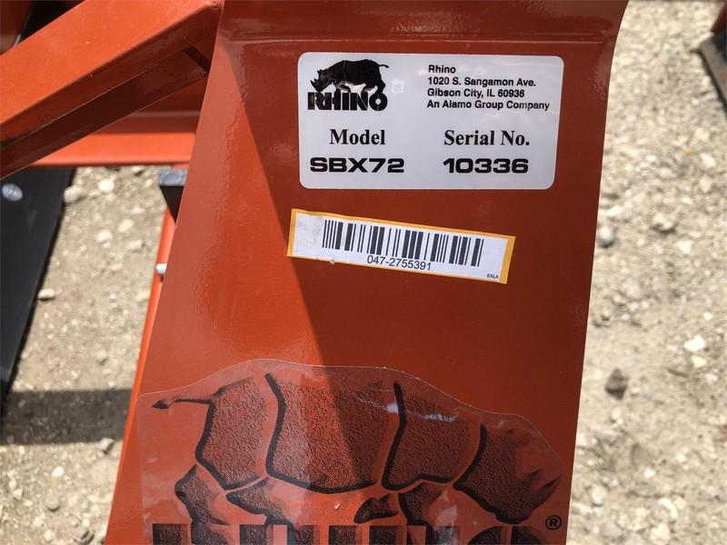 2019 Rhino SBX72 Miscellaneous