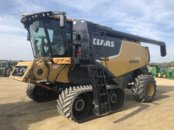Claas 760TT Combine