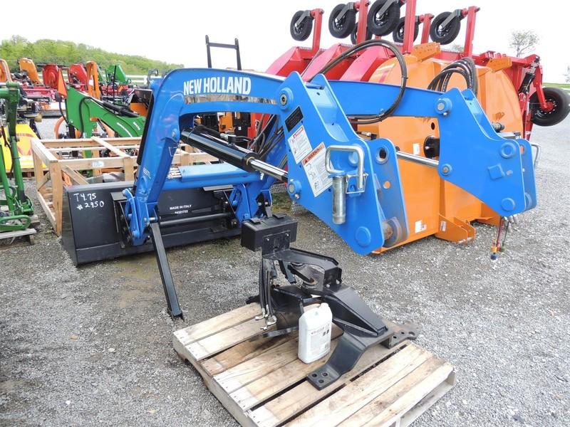 2015 New Holland 655TL Front End Loader