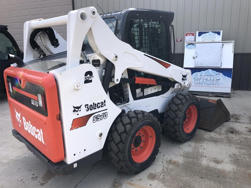 2018 Bobcat S570 Skid Steer