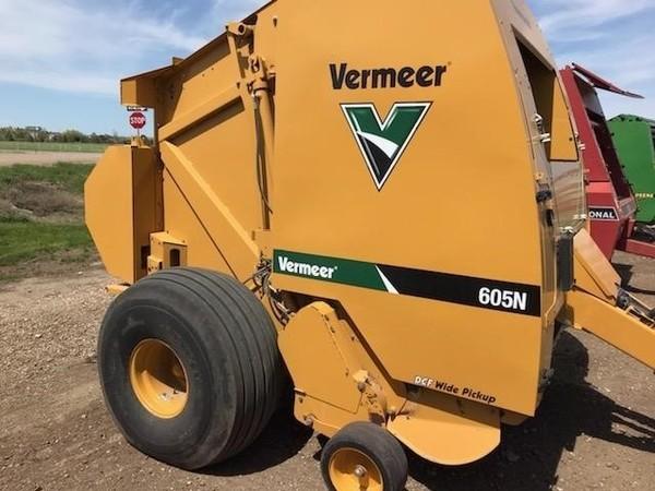 Used Vermeer 605N Round Balers for Sale | Machinery Pete