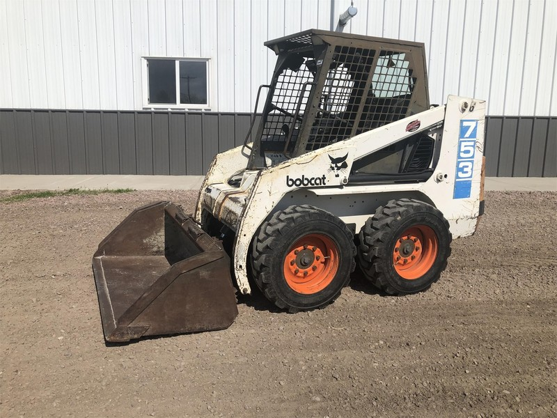 Used Bobcat 753 Skid Steers for Sale | Machinery Pete