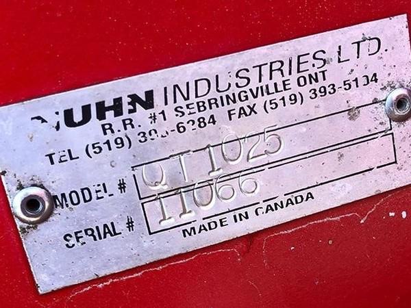 2011 Nuhn 10000 Manure Spreader