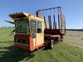 New Holland 1089 Bale Wagons and Trailer