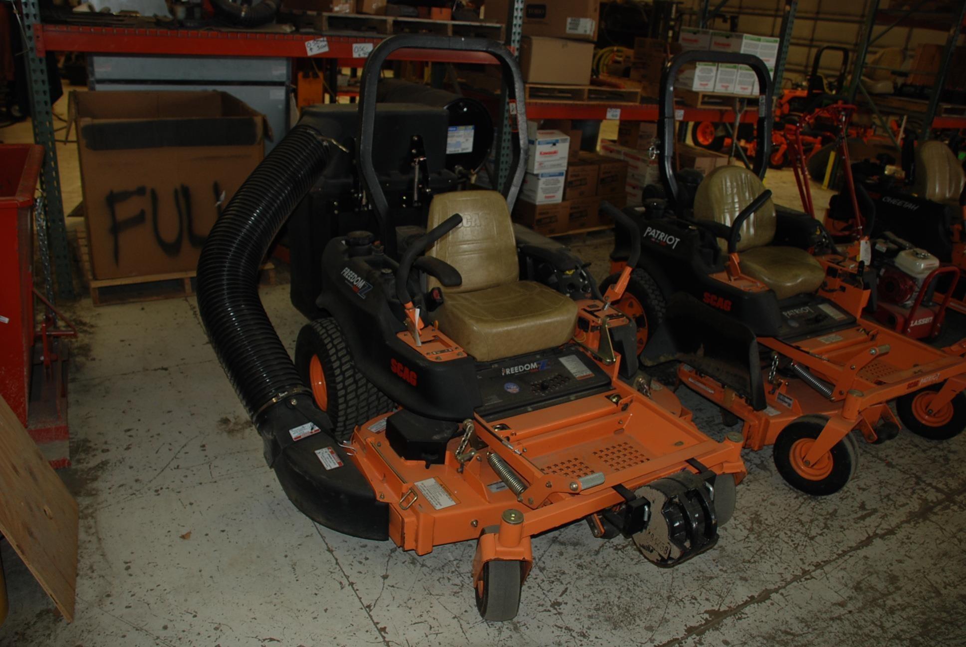 2011 Scag SFZ52-26BS Lawn and Garden