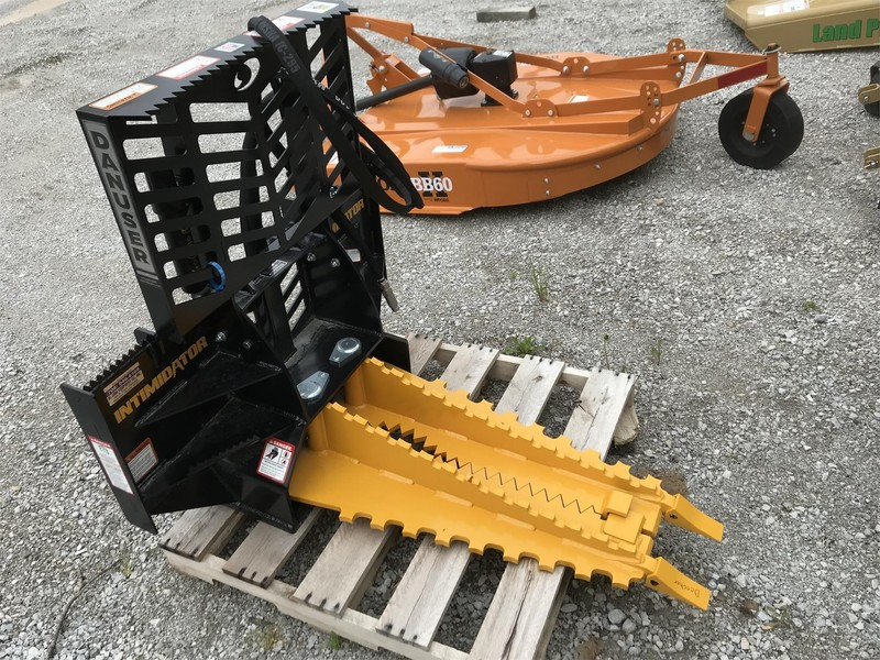 Used Danuser Intimidator Loader and Skid Steer Attachments