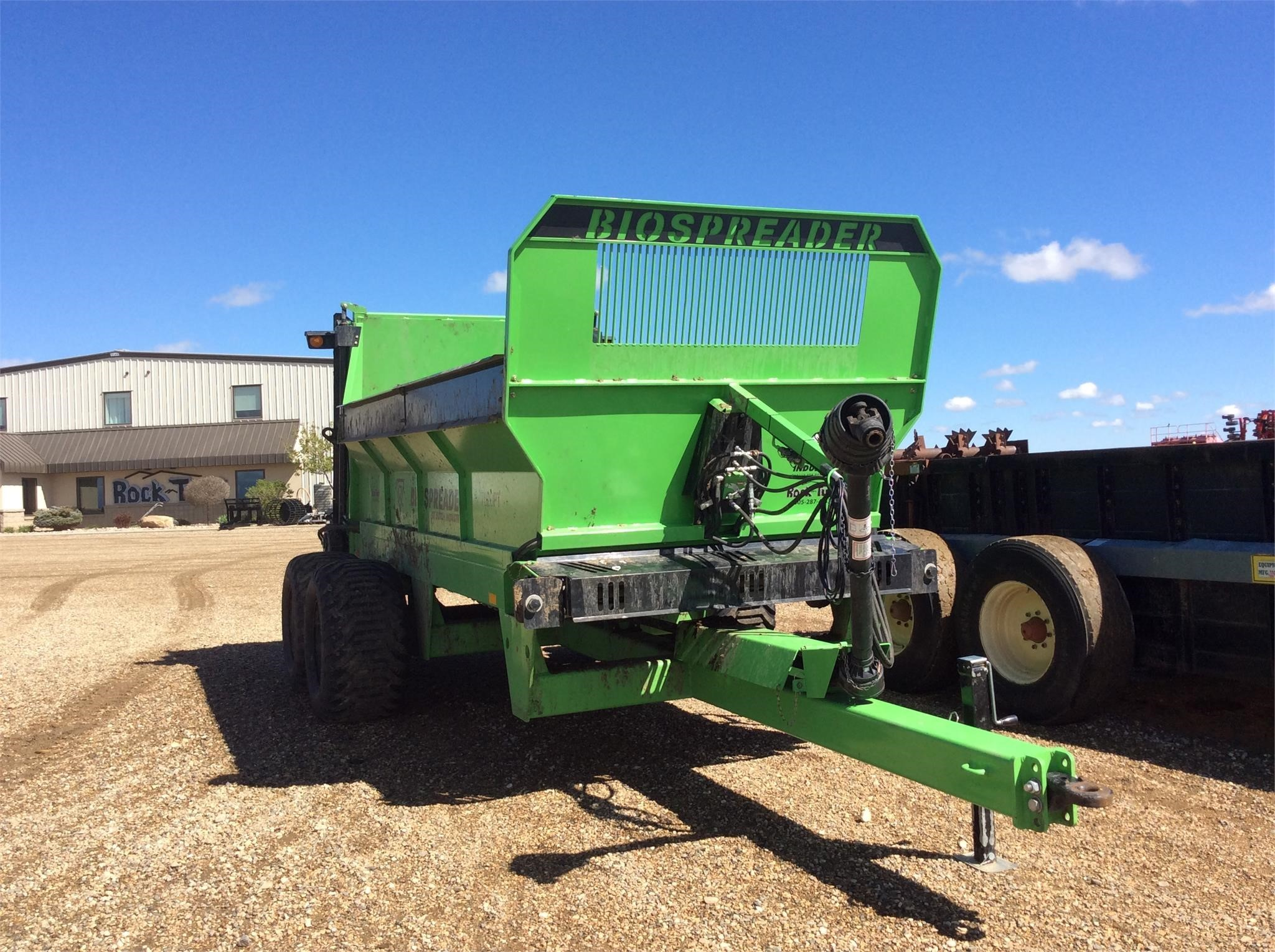 Dutch Industries BIOSPREADER 7020PT Manure Spreader