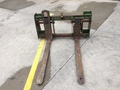 "1994 John Deere 48"" Pallet Forks Loader and Skid Steer Attachment"