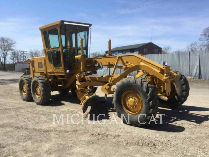 1978 Caterpillar 120G Compacting and Paving