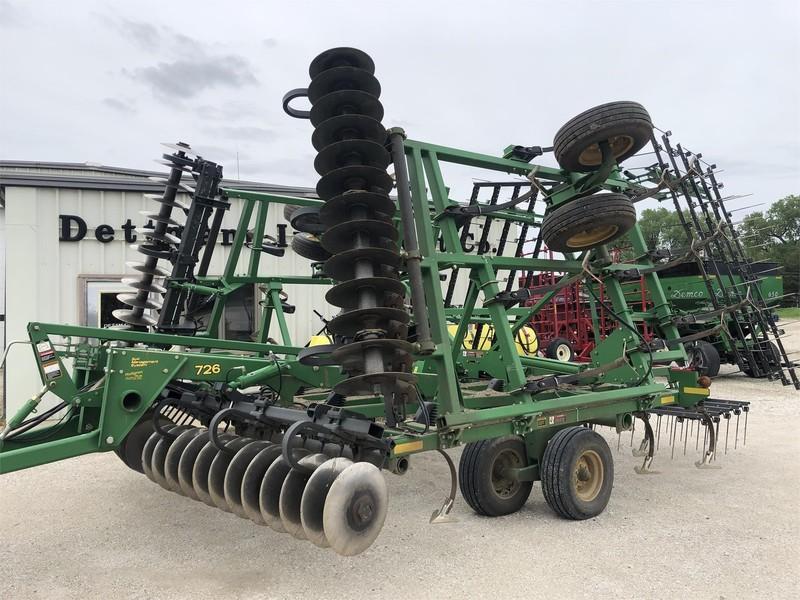 2007 John Deere 726 Soil Finisher