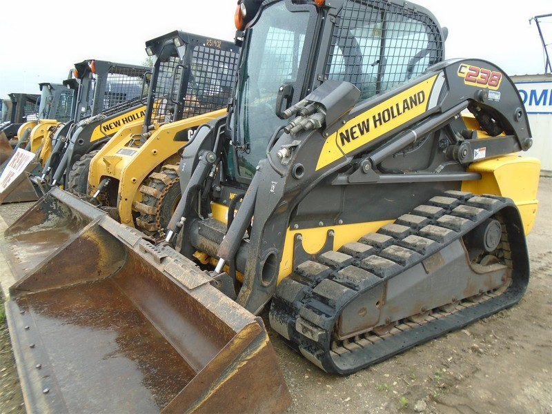 Used New Holland C238 Skid Steers for Sale   Machinery Pete New Holland L Wiring Schematic on