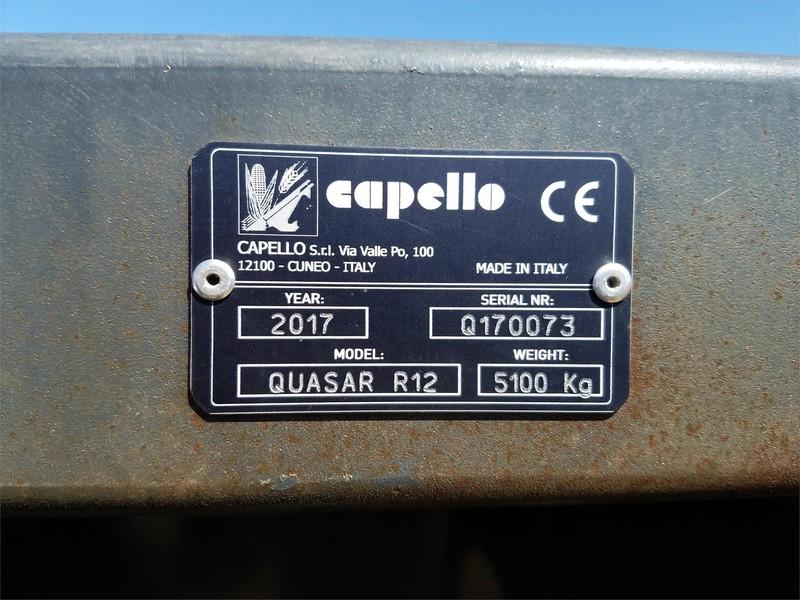 2017 Capello 1230 Corn Head