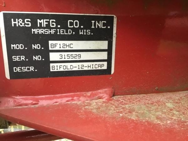 2014 H & S BF 12HC Miscellaneous