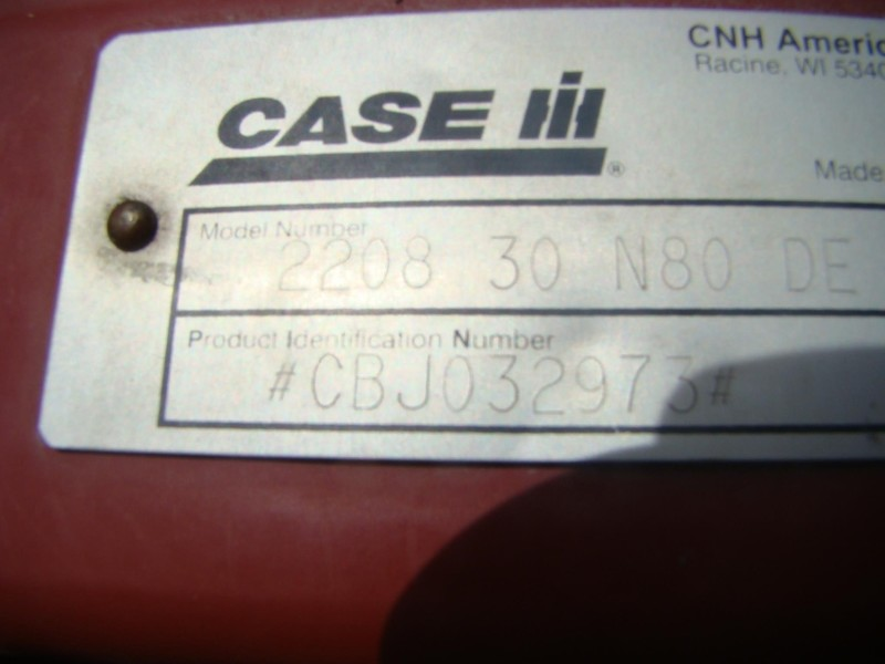 2007 Case IH 2208 Corn Head