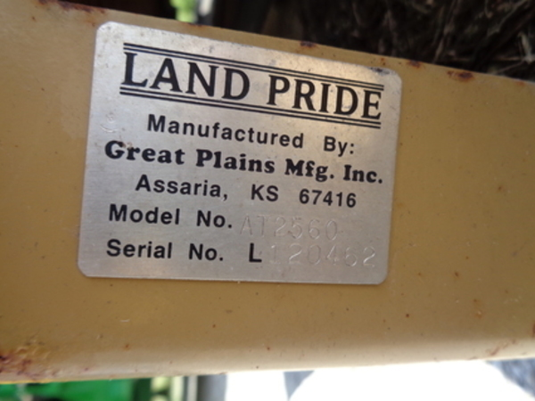 Land Pride AT2560 Rotary Cutter
