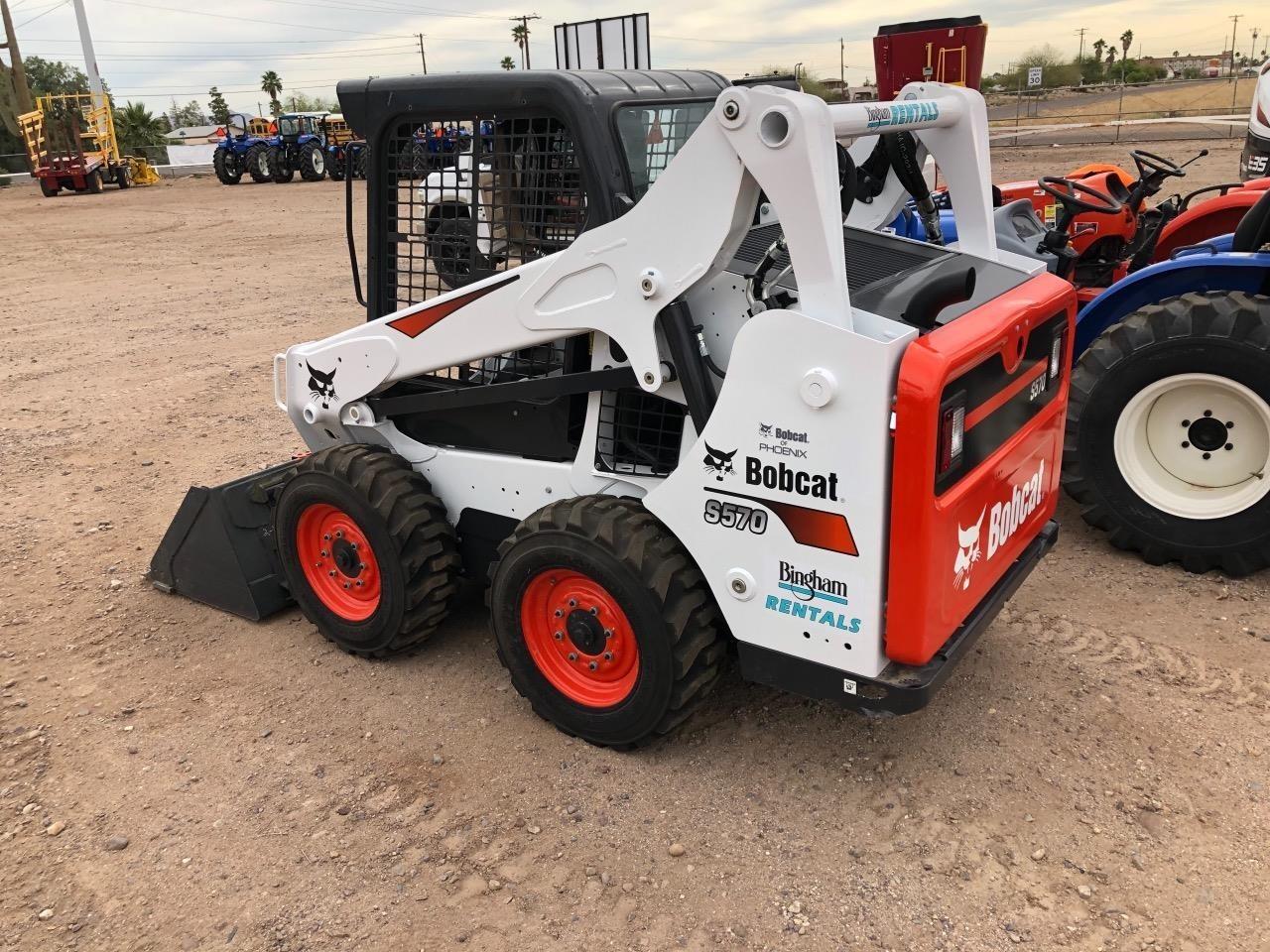 2019 Bobcat S570 Skid Steer