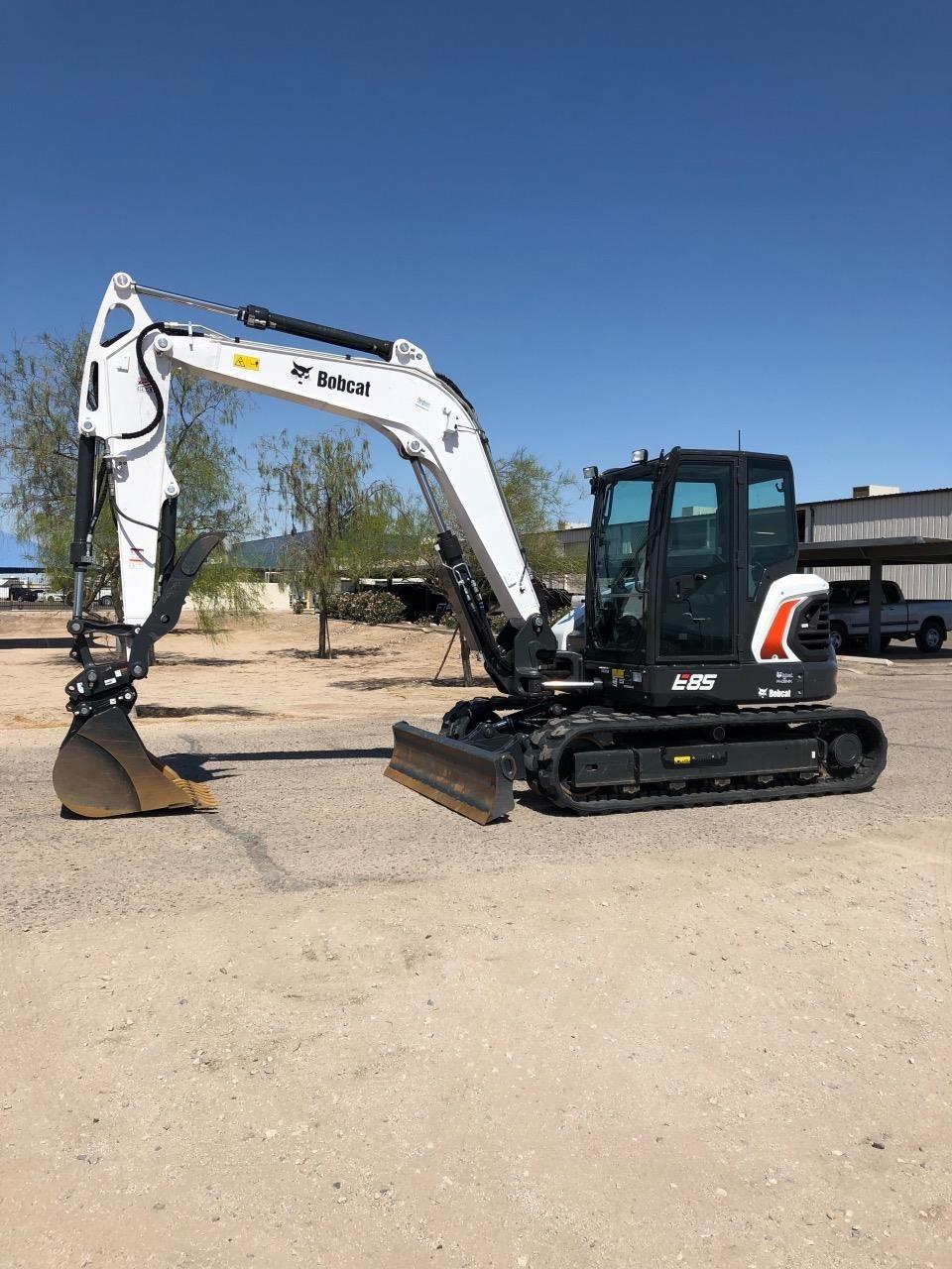 2019 Bobcat E85 Excavators and Mini Excavator