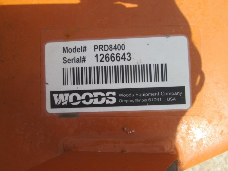 2016 Woods PRD8400 Rotary Cutter