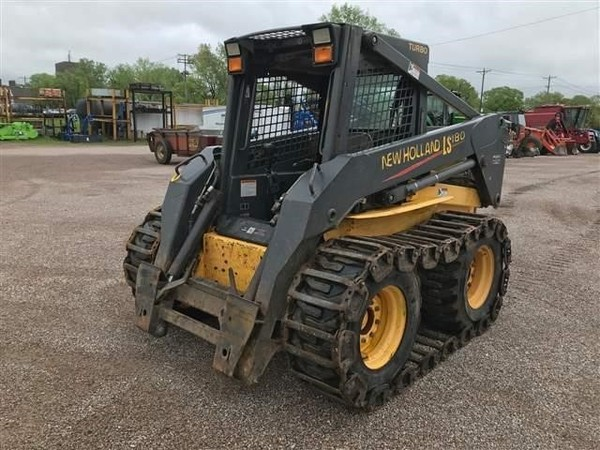 Used New Holland LS180 Skid Steers for Sale | Machinery Pete