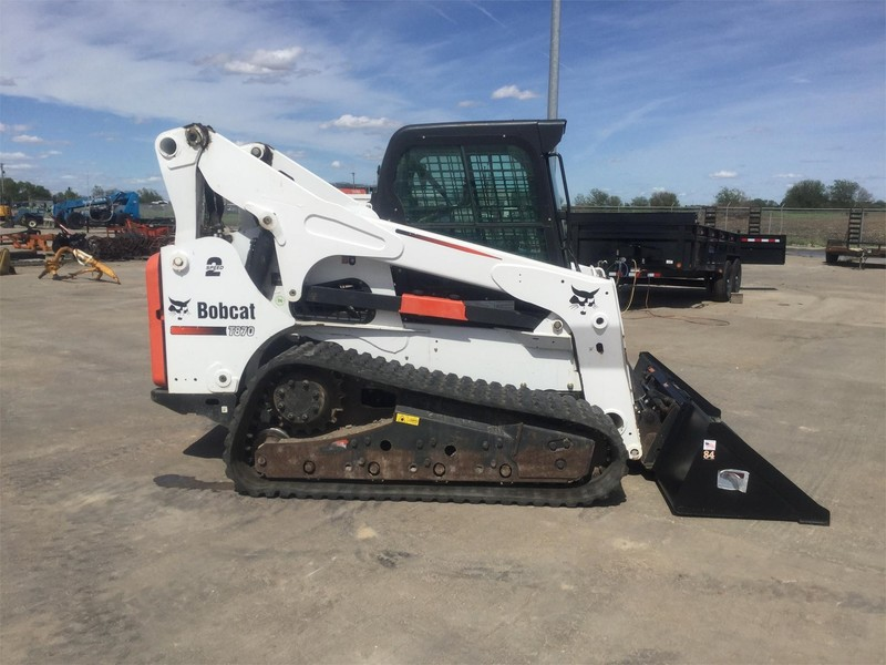 Used Bobcat Skid Steers for Sale   Machinery Pete
