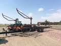 2016 Buhler Farm King BM2450s Bale Wagons and Trailer