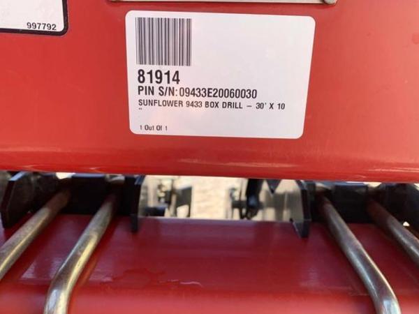 2006 Sunflower 9433 Drill