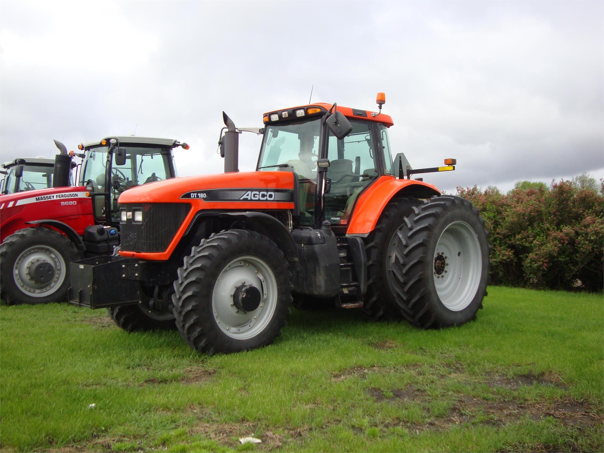 2007 AGCO DT180A Tractor