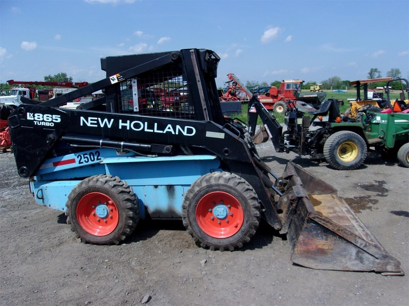 Used New Holland Skid Steers for Sale | Machinery Pete