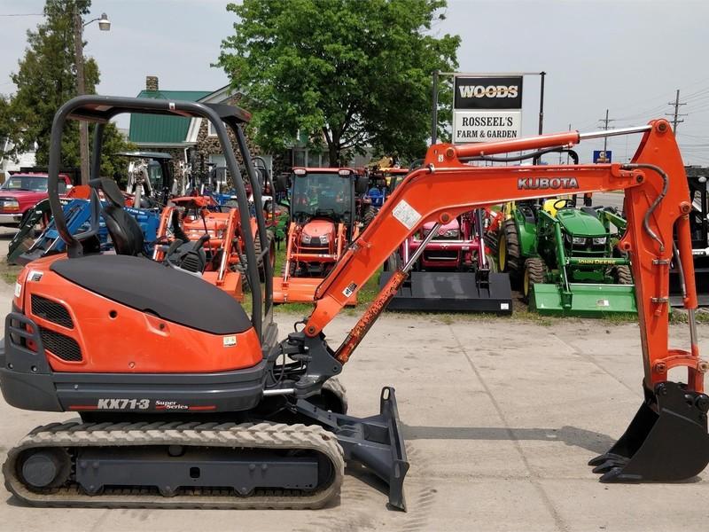 Used Kubota KX71-3 Excavators and Mini Excavators for Sale