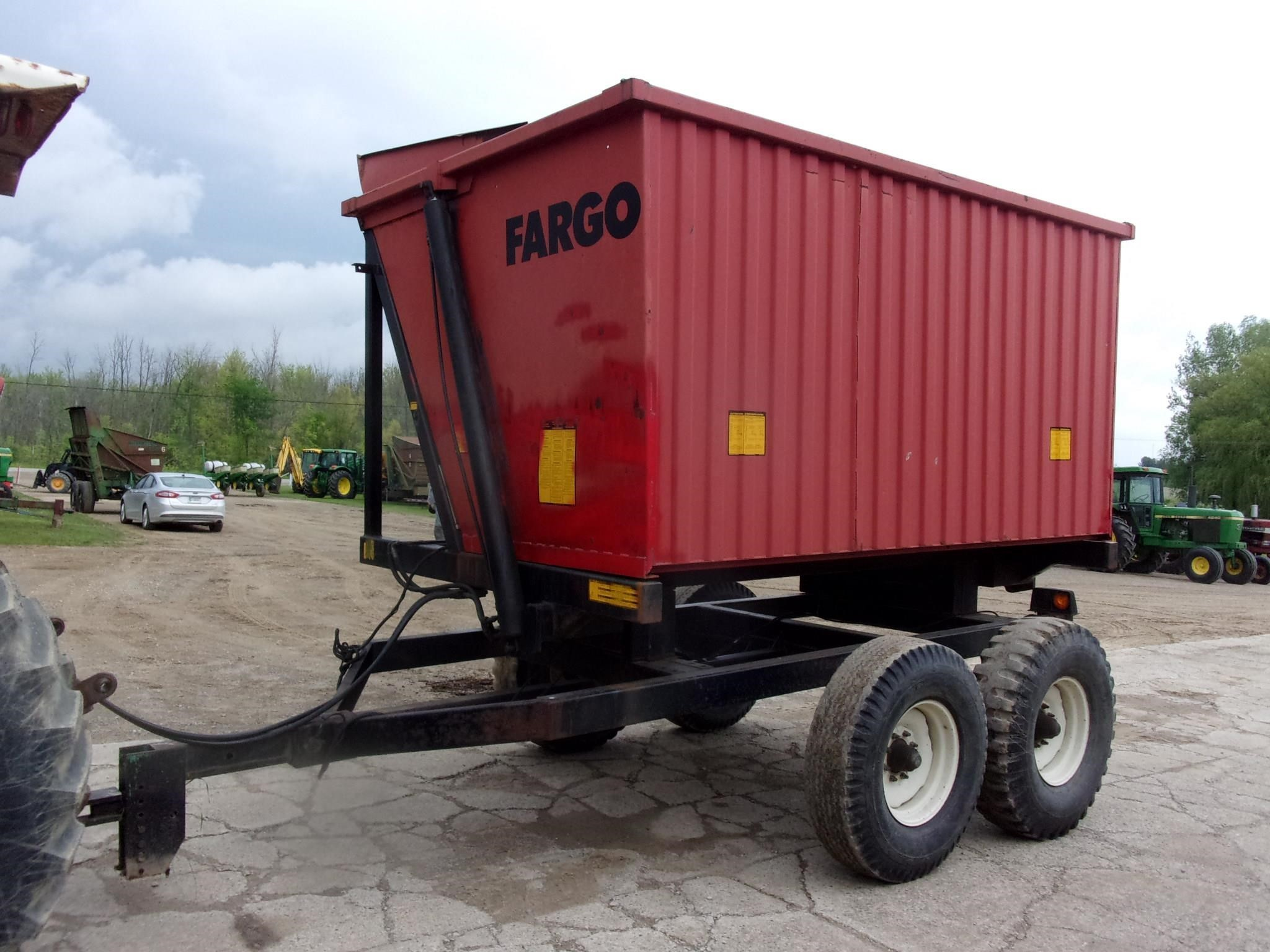 Fargo 12 Forage Wagon