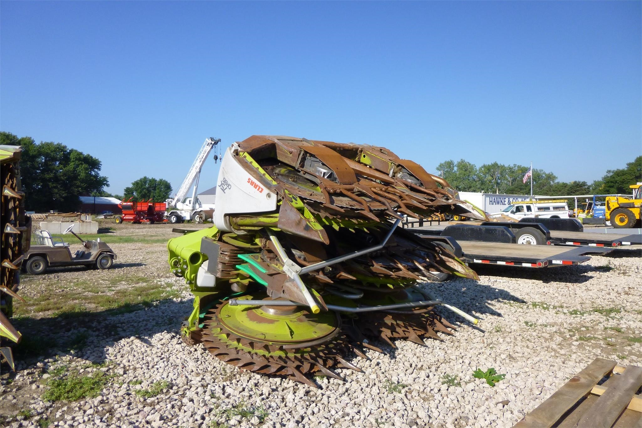 2010 Claas ORBIS 750 Forage Harvester Head