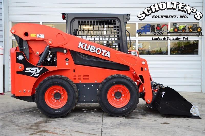 2020 Kubota SSV75 Skid Steer